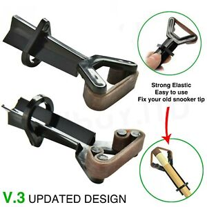 SNOOKER-BILLIARD-POOL-CUE-TIP-CLAMP-REPAIR-TOOL-CUE-HOLDER-SNOOKER-CUE-CLAMP