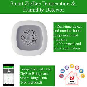 Smart Zigbee Temperature Humidity Sensor Detector For
