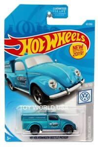 2019-Hot-Wheels-47-Volkswagen-039-49-Volkswagen-Escarabajo-Pickup