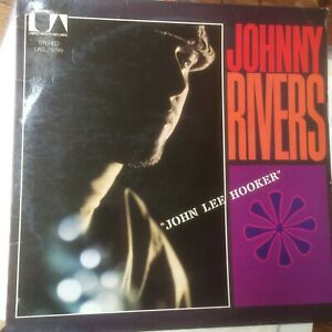 Johnny-Rivers-039-John-Lee-Hooker-039-Whisky-A-Go-Go-Revisited-1975-Vinyl-LP-UAS29299