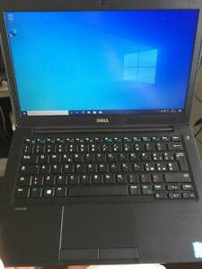 """Dell Latitude 7280 12,5"""" Intel Core i5-7300U, 8GB RAM, 128GB SSD Notebook - Nero"""