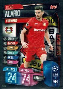 SU 65 Antonio Candreva Topps Match Attax Champions League Extra 19//20 Karte Nr