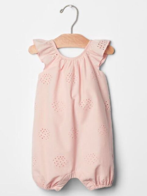 Baby Clothes, Shoes & Accessories Helpful Baby Gap Girls Pink Dungarees Up To 3 Months