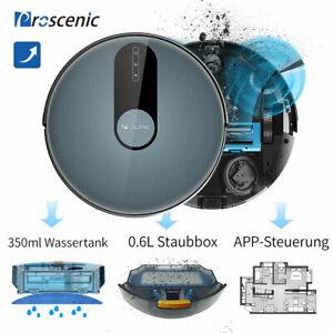 Proscenic 820P Staubsauger Roboter Saugroboter Mit Wischfunktion APP WLAN Alexa