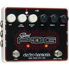 Electro-Harmonix Soul POG  Polyphonic Octave Generator Guitar Effects Pedal EHX