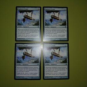 Explorer-039-s-Scope-x4-Conspiracy-4x-Playset-Magic-the-Gathering-MTG