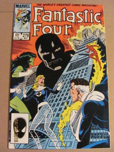 Fantastic Four #278 Marvel Comics 1961 Series