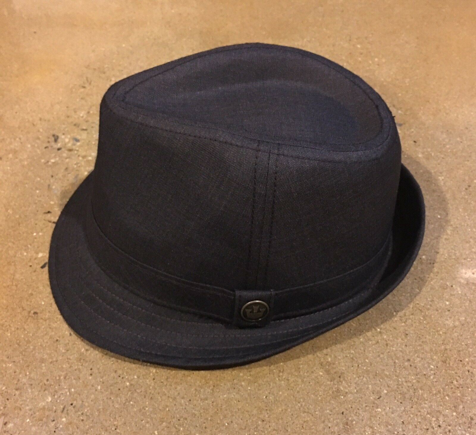 Goorin Brothers Tim Johnson Classic Fedora Hat  Deadstock Olive Large 7 3/8 Deadstock  e5f0e5