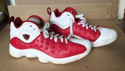 Nike 10 Ii Weiß Rot Gym Air Team Jordan Größe Jumpman 819175 601 Basketball rTqrgU