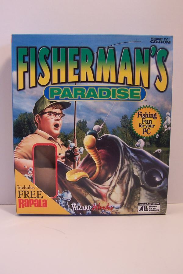 Fisherman's Paradise PC CD-ROM Wizardworks 1998