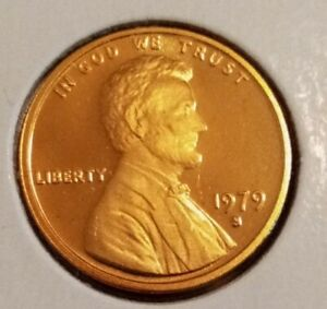 IN A AIRTIGHT CAPSULE 1964 P Lincoln Cent GEM RED PROOF FREE SHIPPING.
