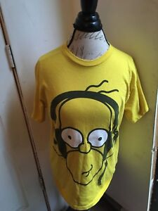 Cool Details About Homer Simpson Headphones The Simpsons Mens Medium Short Sleeve Tee T Shirt Download Free Architecture Designs Scobabritishbridgeorg