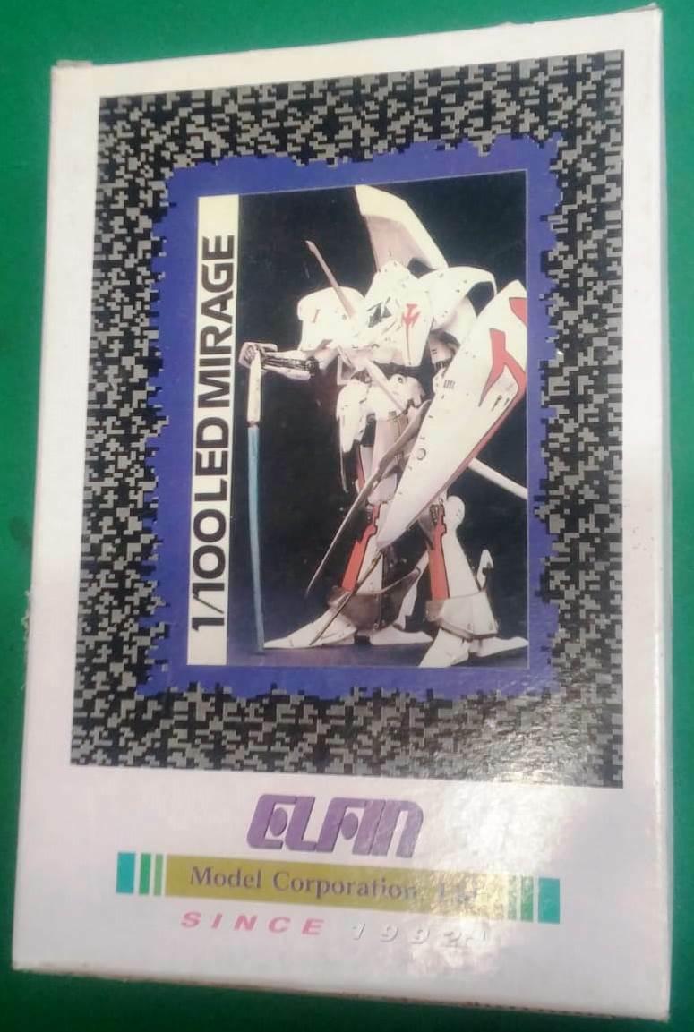 LED MIRAGE MODEL KIT 1 100 ELFIN ANIME VINYL - SINCE 1992 VINILE