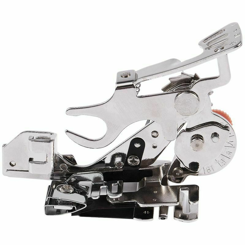 15Pcs Domestic Sewing Machine Low Shank Presser Foot Kit for Singer Brother Elna