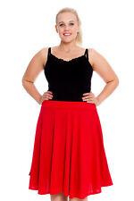 3570932cc470b item 1 New Ladies Skater Skirt Womens Plus Size Plain Midi Skirt Warm Thick  Nouvelle -New Ladies Skater Skirt Womens Plus Size Plain Midi Skirt Warm  Thick ...