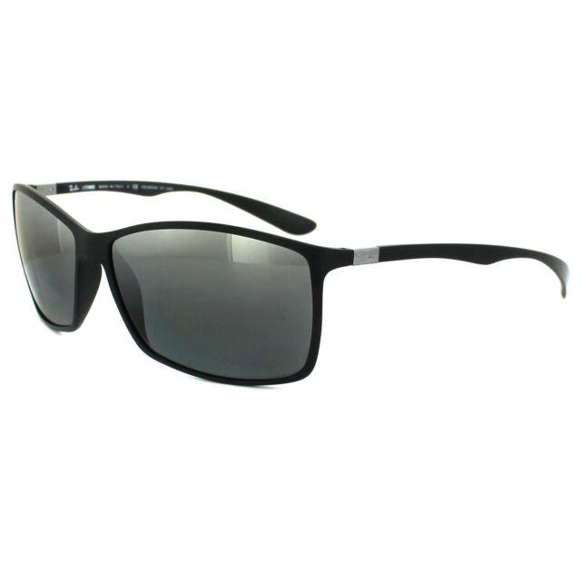 a707479179a Ray-ban gafas de Sol 4179 601s82 negro plata polarizadas espejo ...