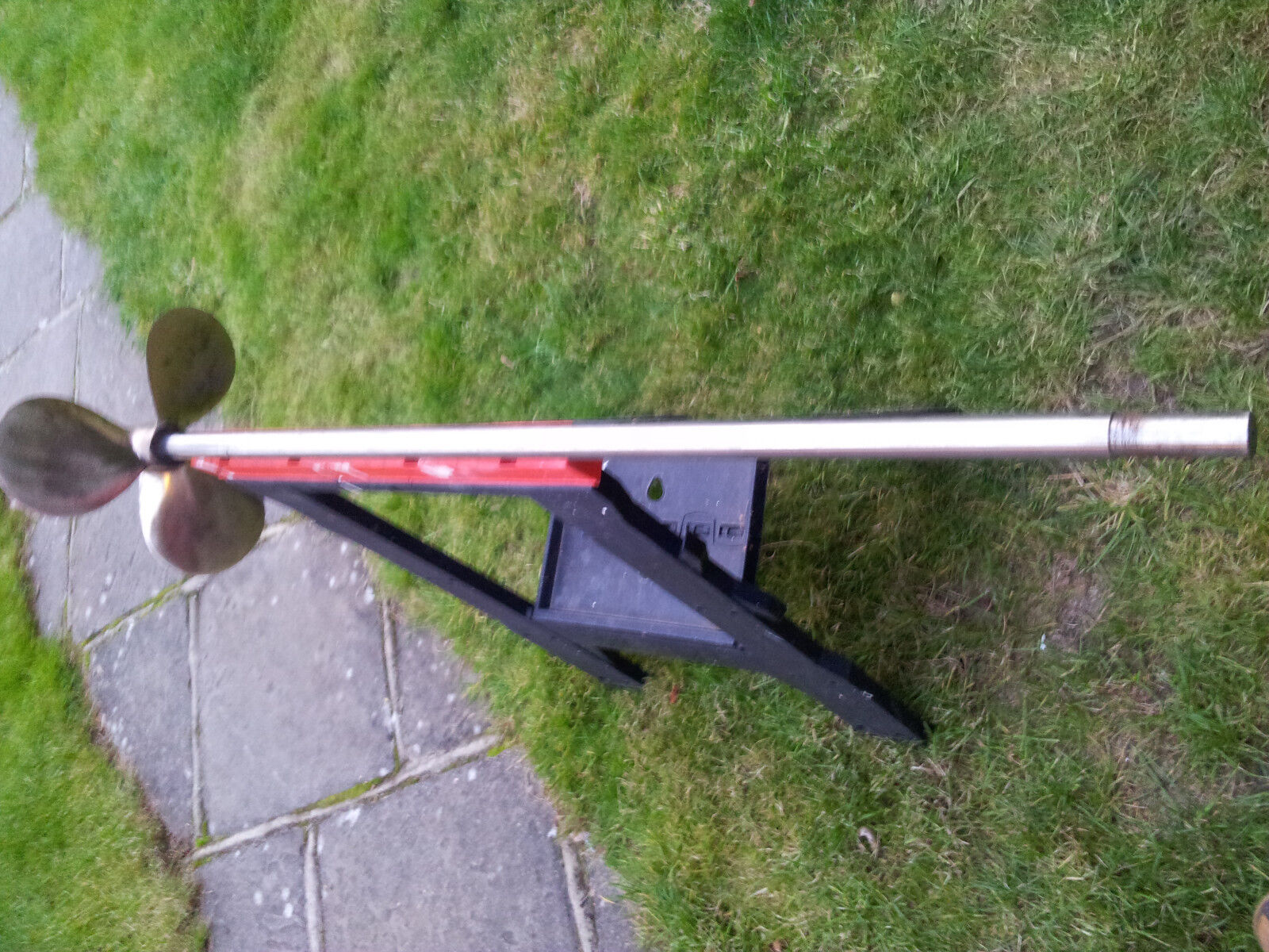 3 blade 14 X 10 bronze propeller complete with stainless steel shaft 11 8
