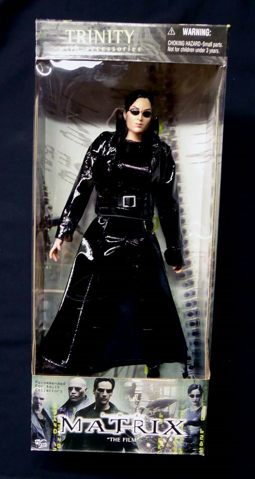 Matrix Movie Trinity 11 inch Action Figure by N2 Toys New 2000 Neo