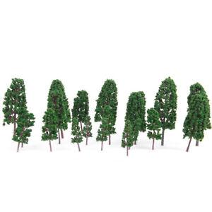 20x-Pine-Trees-Model-Train-Scenery-Wargame-Diorama-1-100-1-300-HO-N-Scale