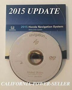2015 Honda Acura Navigation White Dvd Update V4 D0 Ebay