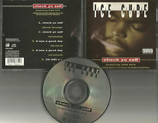ICE CUBE w/ DAS EFX Check yo Self 5TRX REMIX & INSTRUMENTAL &UNRELEASE CD Single