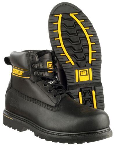 CAT Caterpillar Holton S3 Mens Safety Steel Toe Cap Midsole Work Boot UK6-15