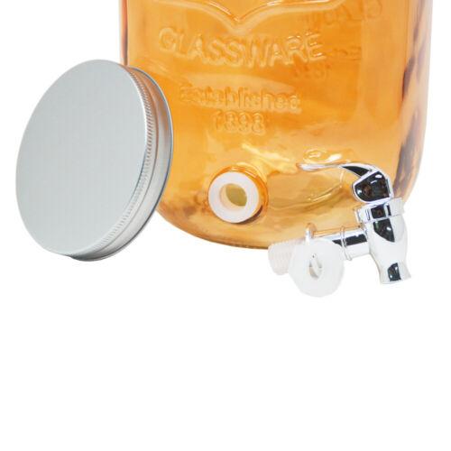 4l 5l 8l getränkespender dispensador de agua saftspender garrafa de vidrio espita tapa
