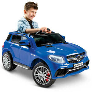 Huffy Mercedes-Benz Kids Ride On Car 6V GLE63s Single Seat Blue NEW