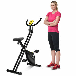 Folding-Exercise-Bike-Home-Cycling-Magnetic-Trainer-Fitness-Stationary-Machine