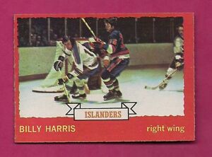 1973-74-OPC-130-ISLANDERS-BILLY-HARRIS-ROOKIE-NRMT-CARD-INV-3453