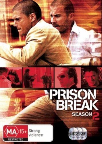1 of 1 - Prison Break : Season 2 (DVD, 2007, 6-Disc Set)
