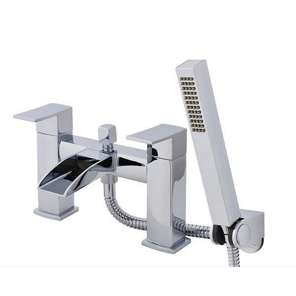 Ultra TAT304 douves cascade bain douche Mélangeur-Chrome   ouvrir le bec