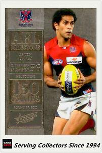 2012-Select-AFL-Champions-Milestone-Card-MG42-Arron-Davey-Melbourne