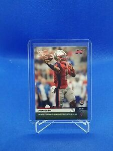 2020 Topps NOW XFL #4 PJ Walker RC Carolina Panthers 🔥🔥🏈🏈 SP only 375 Made!