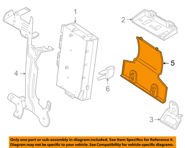 s l640 land rover lr2 instrument panel fuse relay cover 2008 2009 oe