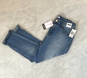 Women-s-High-Rise-Cropped-Jeans-Size-10-30-New-With-Tags-Blue-Jeans