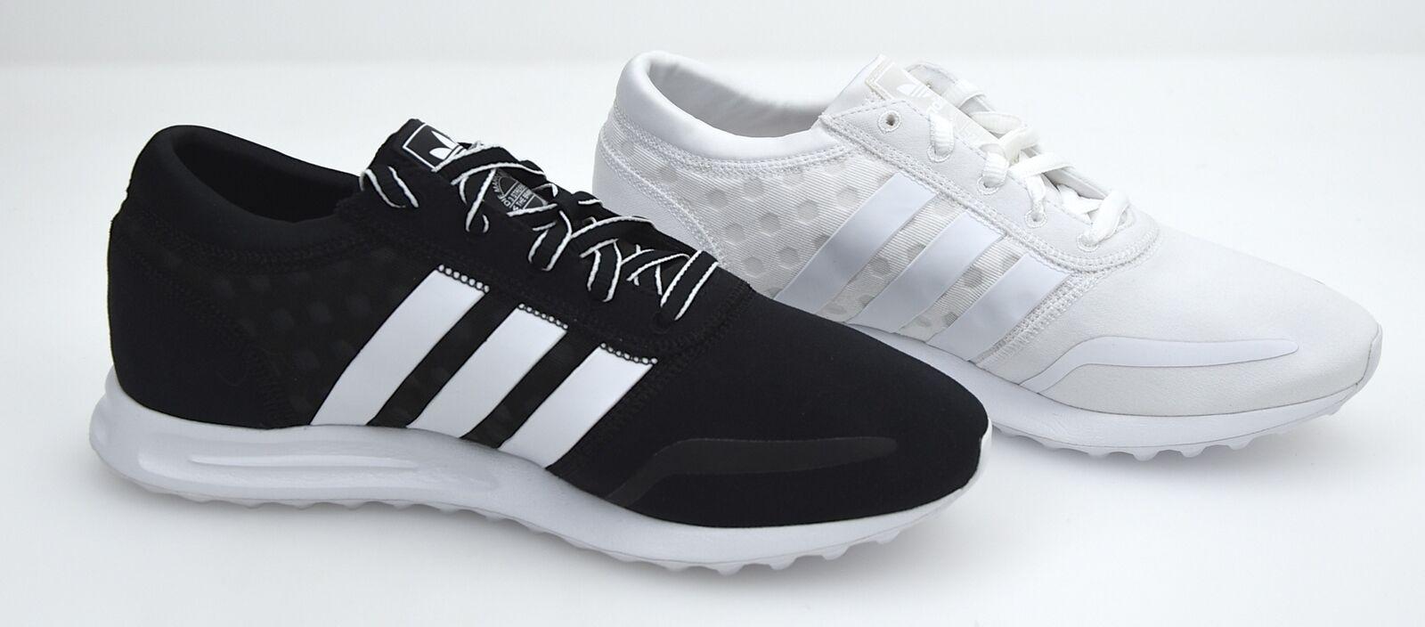 Adidas zapatillas tipo. señora zapatos casuales zapatillas negro/ blanco o tipo. zapatillas los angeles W 22014f