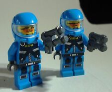 LEGO Alien Conquest DEFENSE UNIT Lot of 2 SOLDIERS Minifigs MINI FIGURINES