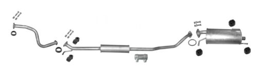 Suzuki Splash 1.2 VVT 16V Auspuffanlage *4931 Auspuff für Opel Agila B 1.2 16V