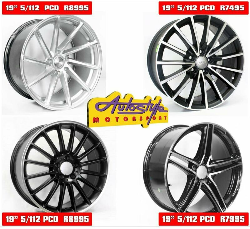 Mags alloy rims wheels suitable for VW - Audi- BMW - Merc  19 inch QS CVT 5-112 Hypersilver Alloy Wh