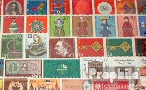 Alemania 50 diferentes sellos especiales nuevo