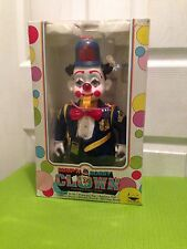Vintage 1989 New Bright Bump n Bobby Clown Battery Police Robot (Unused in Box)