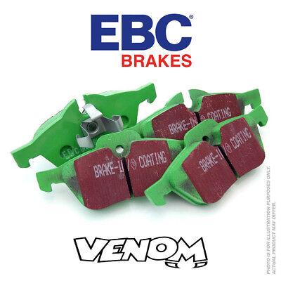 100% Vero Ebc Greenstuff Pastiglie Dei Freni Anteriori Per Opel Kadett 1.3 79-81 Dp2325- Morbido E Leggero