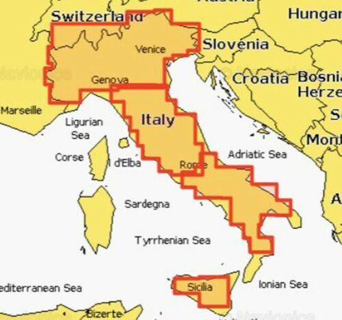 Navionics Plus Small 5G539S2 Italien Seen und Fluss Poo Seekarte