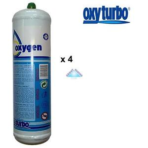 Oxyturbo Gas And Oxygen Cylinders x 2 For Oxyturbo Turbo Set 90 Lead Welding Kit