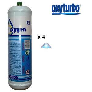 Oxyturbo Gas And Oxygen Cylinders x 2 For Oxyturbo Turbo Set 90 Lead Welding Kit