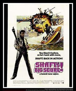 Shaft S Big Score 27x40 Us One Sheet Vintage Movie Poster Original