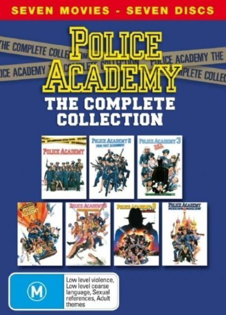 Police Academy - The Complete Collection (DVD, 2004, 7-Disc Set)