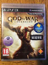 God of War Ascension - PS3 Sony Factory Sealed!