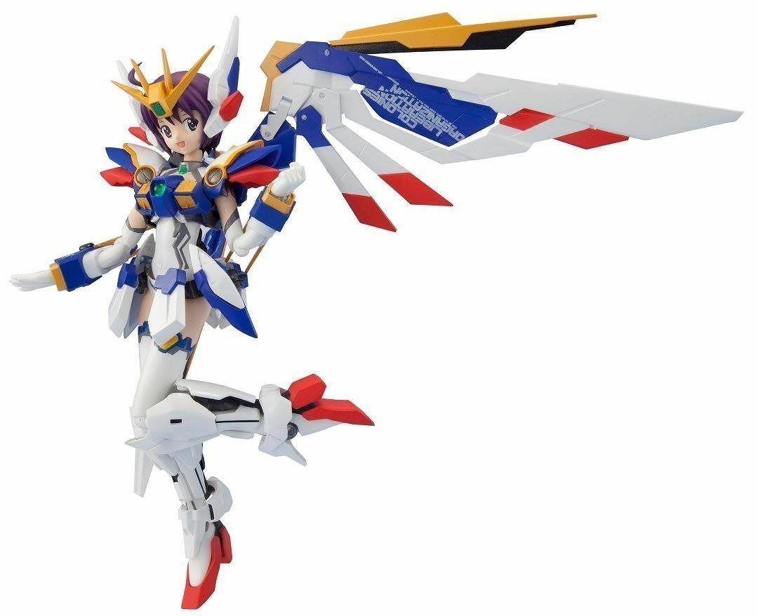 Armor Girls Project MS GIRL WING GUNDAM EW Action Figure BANDAI from Japan